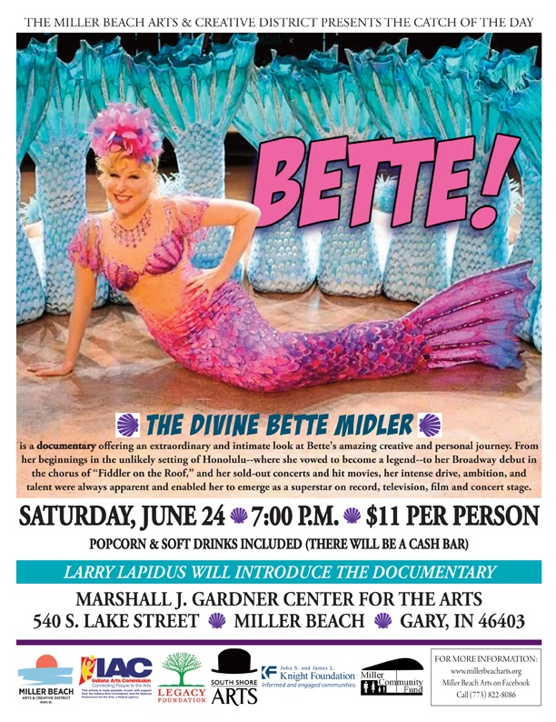 Bette Midler documentary film