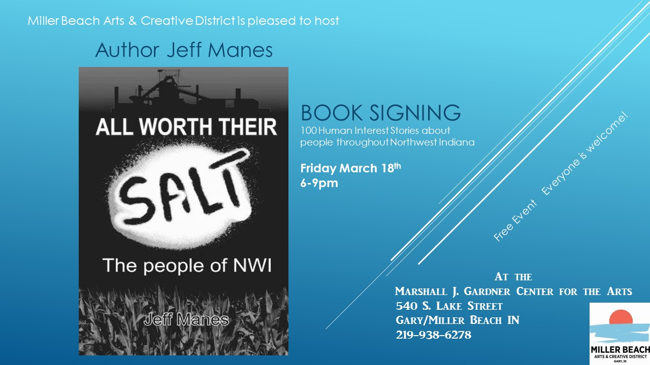 Jeff Manes Book Signing
