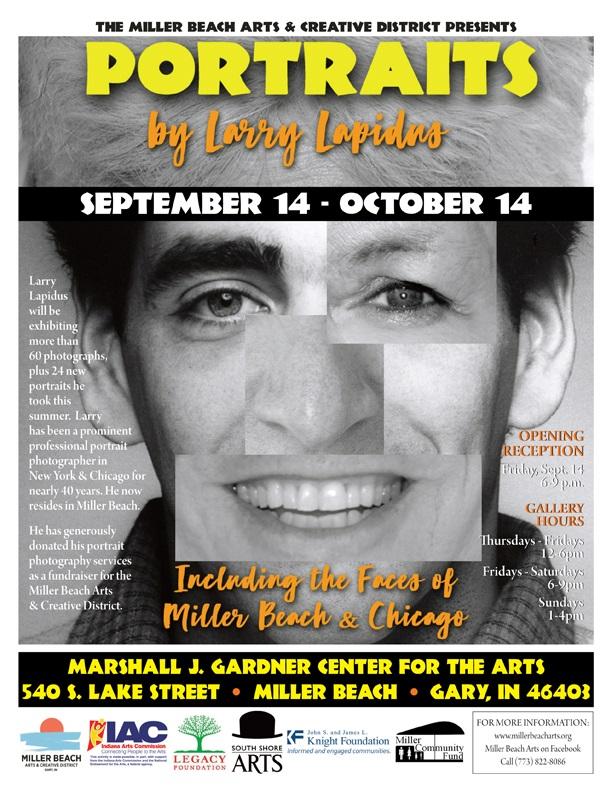 Larry Lapidus Portrait Exhibit OPENING RECEPTION