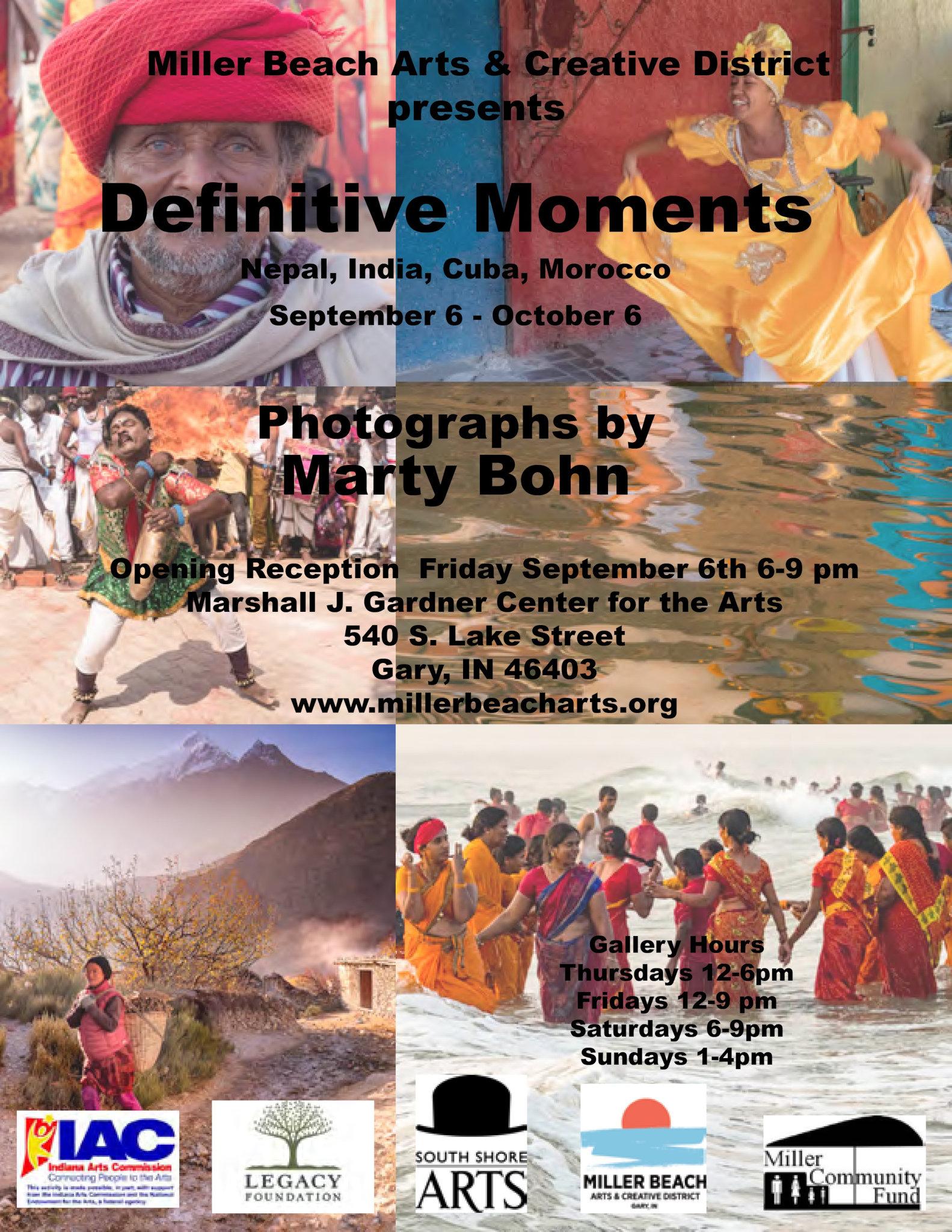 Flyer Marty Bohn Definitive Moments