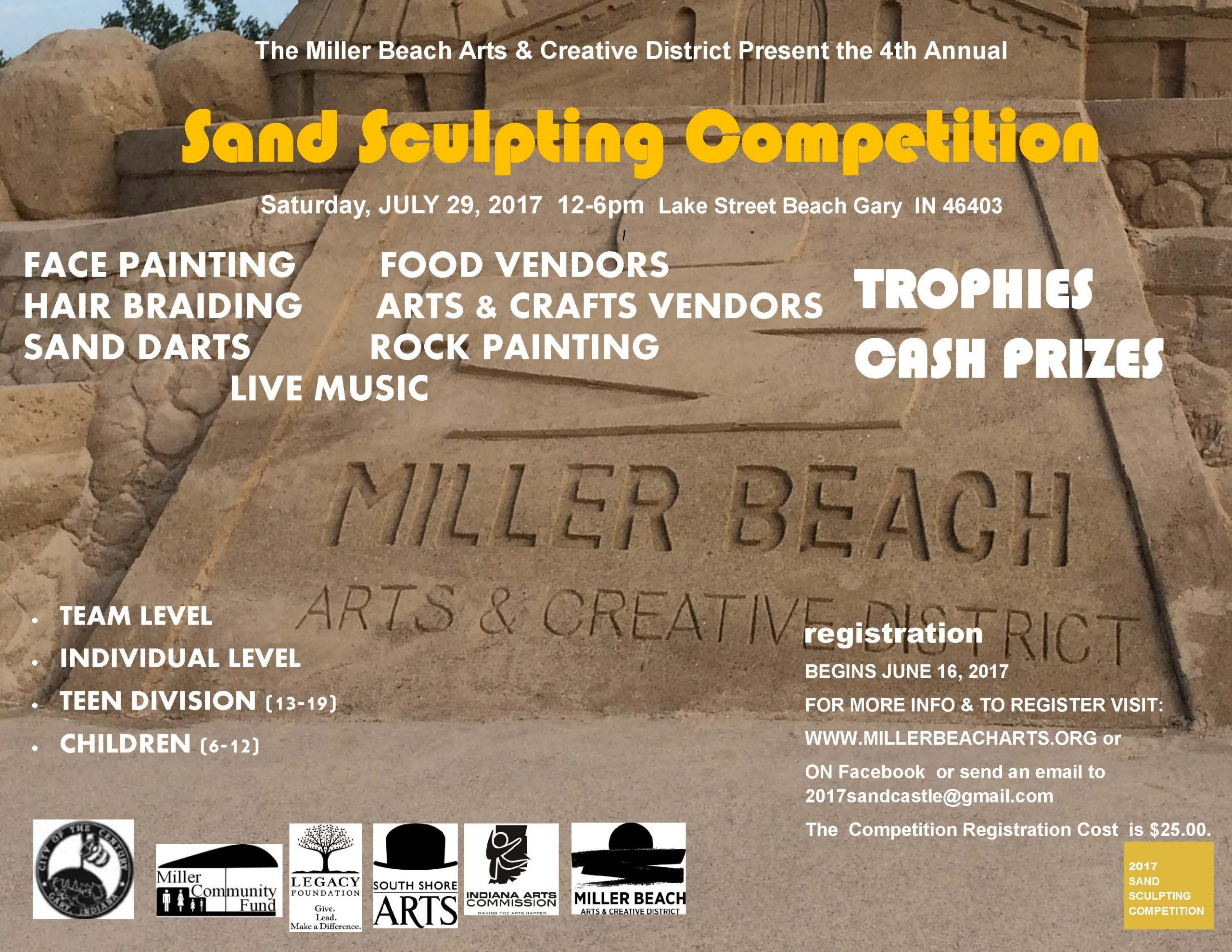 Sand Castle Competition and Beach Party
