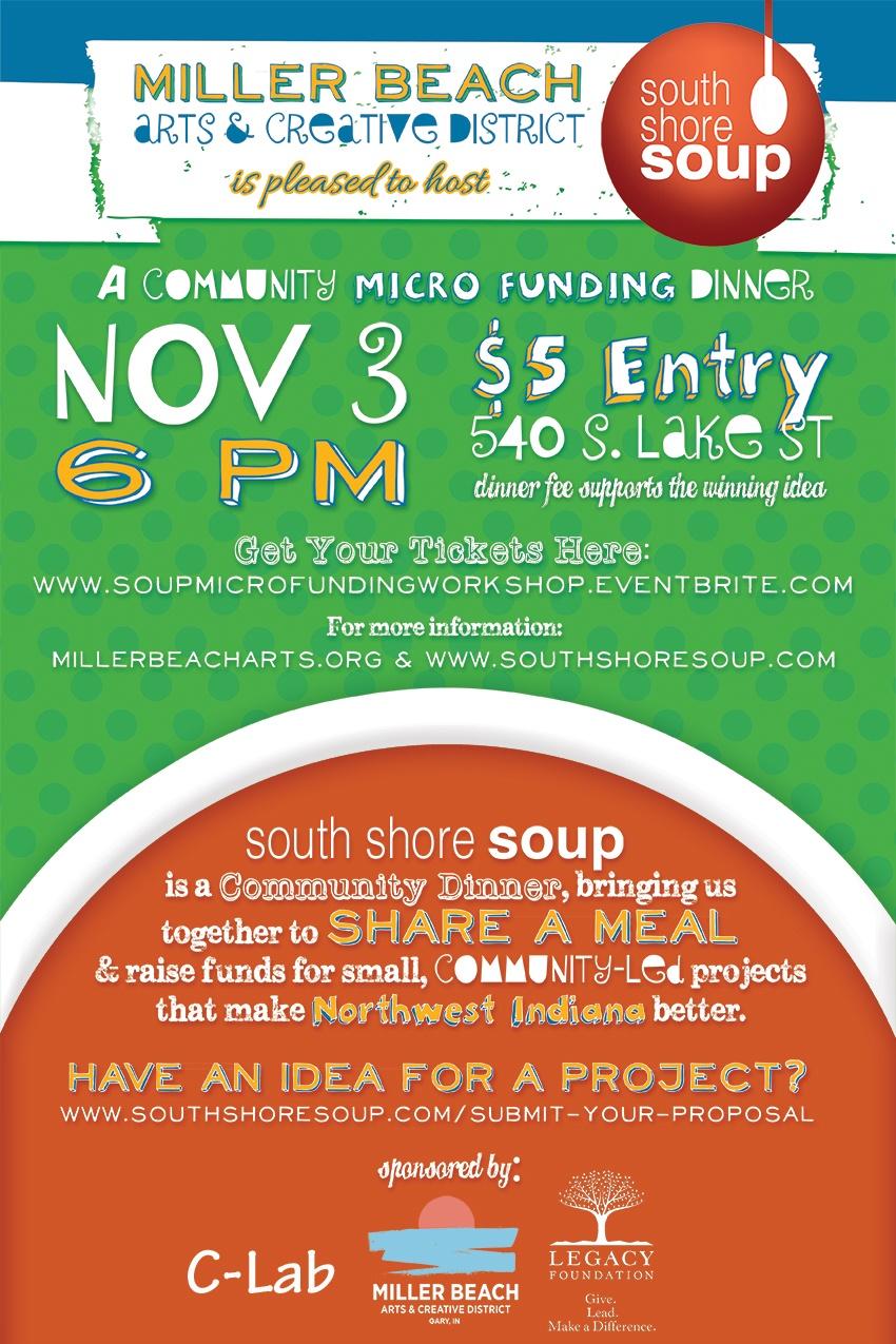 South Shore SOUP microfunding dinner